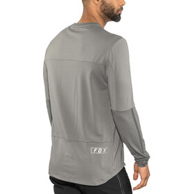 Fox Defend Delta LS Jersey Herren grey vintage
